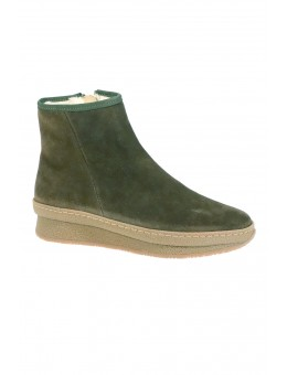 Pavement Nora Wool Green Suede-20