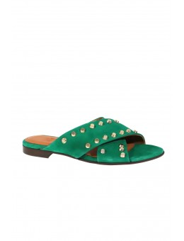 Billi Bi 6107 552 Green Amazon Suede w. Gold-20
