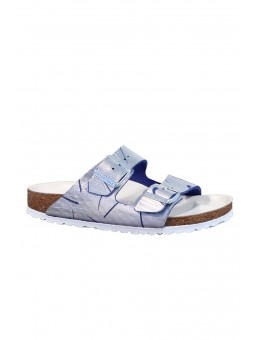 Birkenstock 1012948 Arizona Rivet Logo Metallic Cut Ocean-20