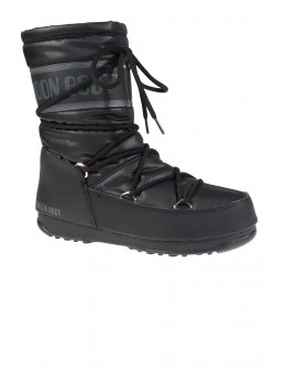 Moon Boot 24009200 Mid Nylon WP West East Black-20