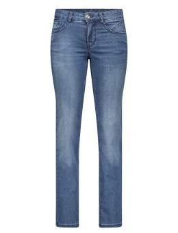 MAC Jeans Lovely Super Stretch Mid Blue Authhentic Used 5700 0350L D664-20