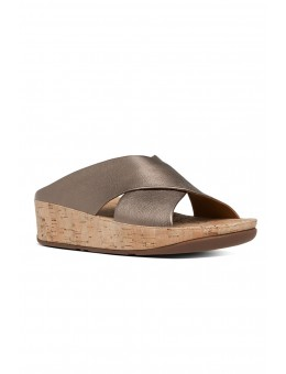 Fitflop Kys™ Leather Bronze-20