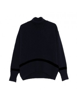 Libertine-Libertine Husky Sweater Dark Navy Black-20