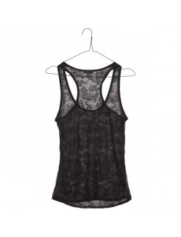 Lulu´s Drawer 1022 Lynn Singlet Black-20