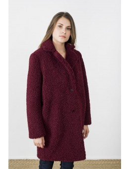 MKT Studio Mania Coat Bordeaux-20