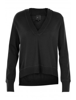 Six Ames Mary Blouse Black-20