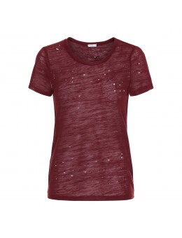 Maché Miro Trash Tee Wine Red-20