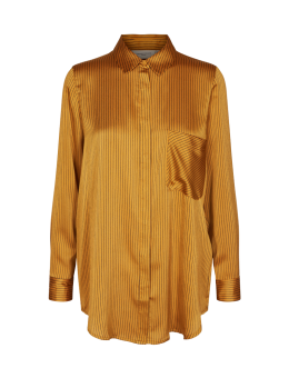 Cph Muse 121349 Paige Shirt Stripe Yellow Combi-20