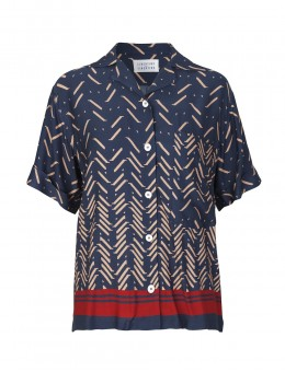 Libertine-Libertine Planet Shirt Red Tooth-20