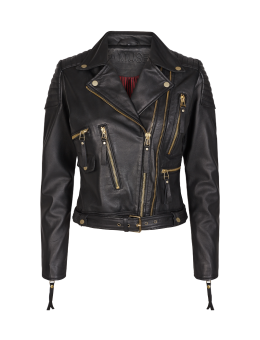 CPH Muse 119262 Royal Leather Jacket Black-20