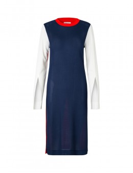 Libertine-Libertine Shoot Dress Colour Block-20