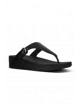 FitFlop Skinny Toe-Thong Sandals Leather Black-20