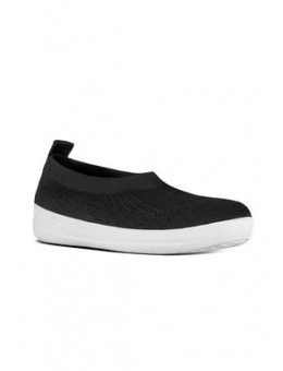 FitFlop Uberknit™ Slip-On Ballerina Black-20