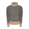 Cph Muse 123818 Perry Pullover Peyote-black mix as sms-01